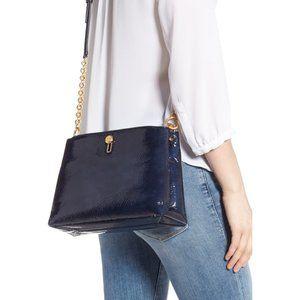TORY BURCH Lily Patent Crossbody Bag - NWT
